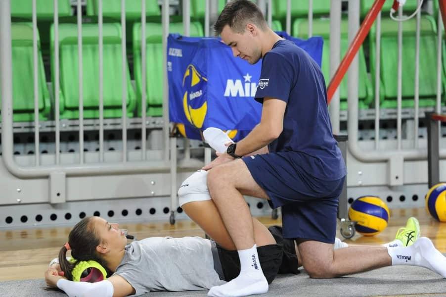Izvajanje športne fizioterapije Blaž Kopič